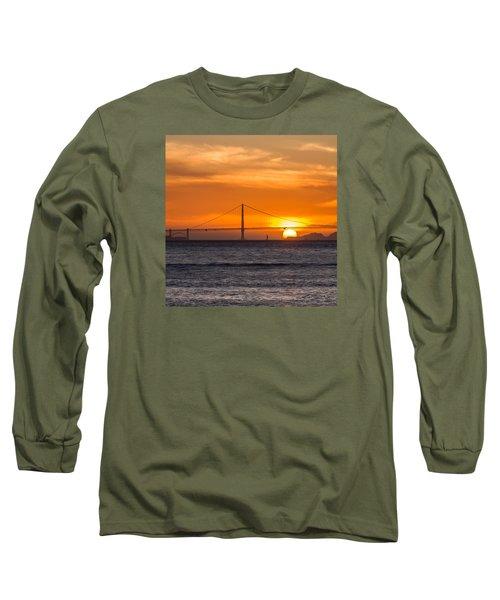 Golden Gate - Last Light Of Day Long Sleeve T-Shirt