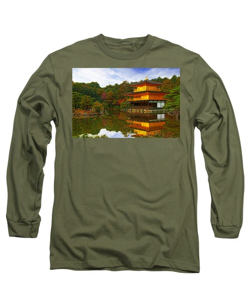 Golden Pavilion Long Sleeve T-Shirt