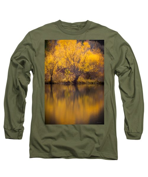 Golden Pond Long Sleeve T-Shirt by Steven Milner