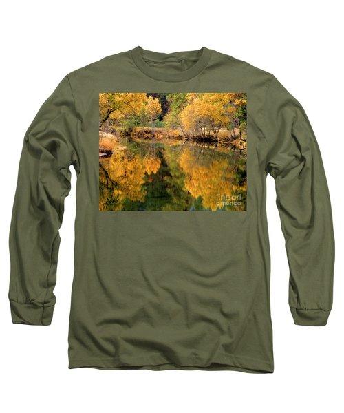 Golden Reflections Long Sleeve T-Shirt