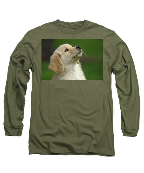 Golden Retriever Puppy Long Sleeve T-Shirt