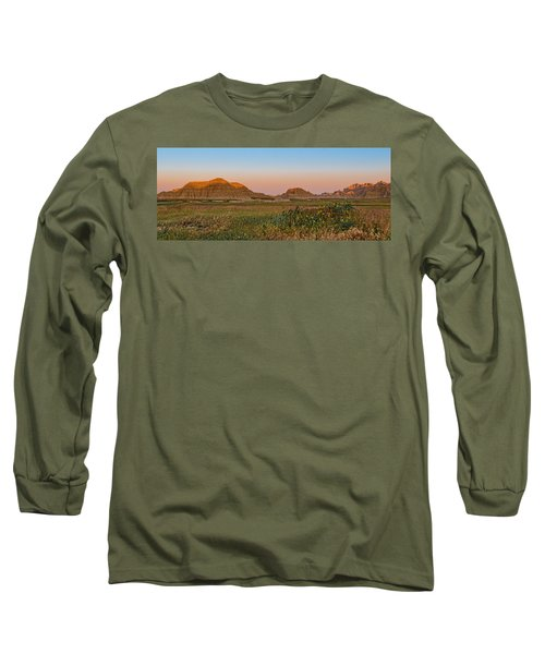 Good Morning Badlands II Long Sleeve T-Shirt by Patti Deters