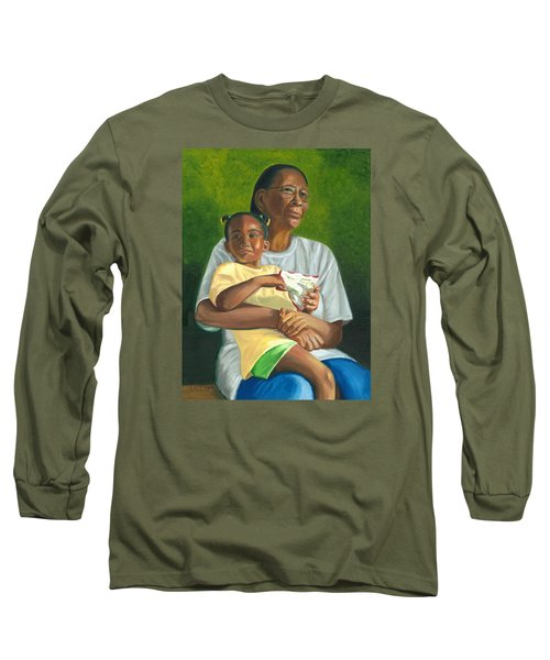 Grandma's Lap Long Sleeve T-Shirt