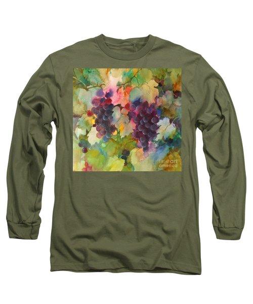 Grapes In Light Long Sleeve T-Shirt