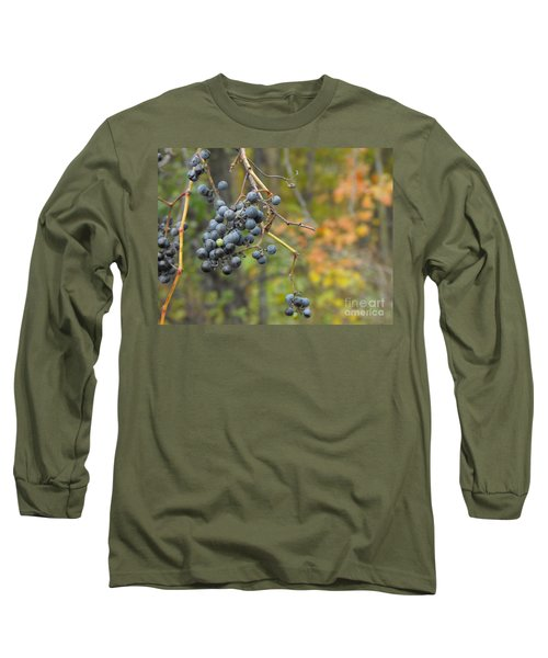 Grapes Left Long Sleeve T-Shirt