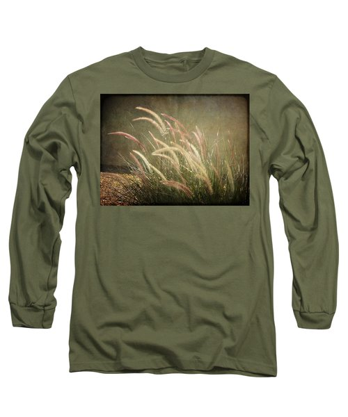 Grasses In Beauty Long Sleeve T-Shirt