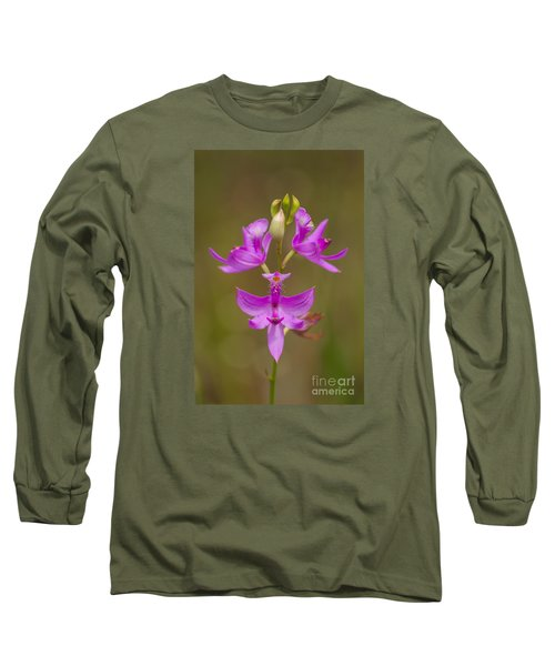 Grasspink #1 Long Sleeve T-Shirt by Paul Rebmann