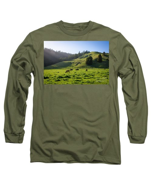 Grazing Hillside Long Sleeve T-Shirt