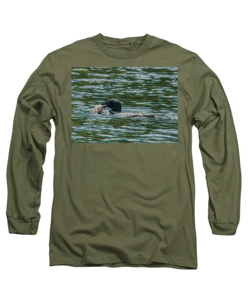 Long Sleeve T-Shirt featuring the photograph Great Catch by Brenda Jacobs