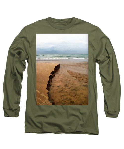 Great Lakes Shoreline Long Sleeve T-Shirt