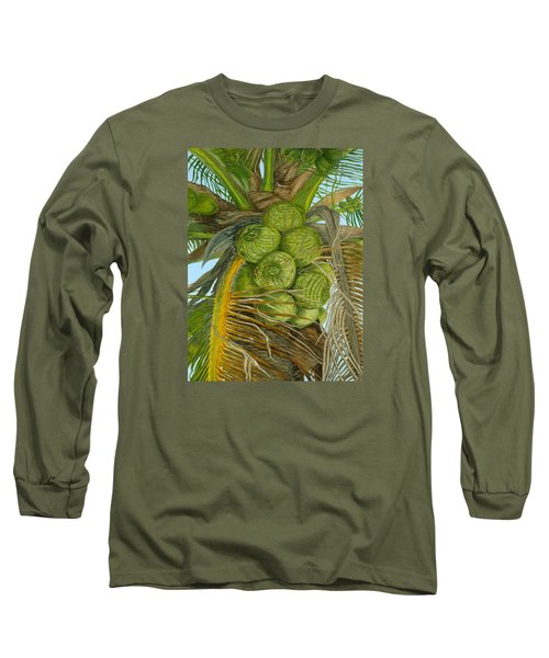 Green Coconut Long Sleeve T-Shirt