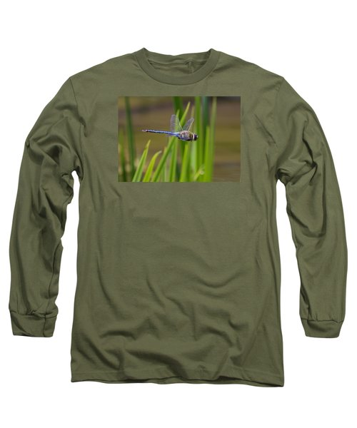 Green Darner Flight Long Sleeve T-Shirt