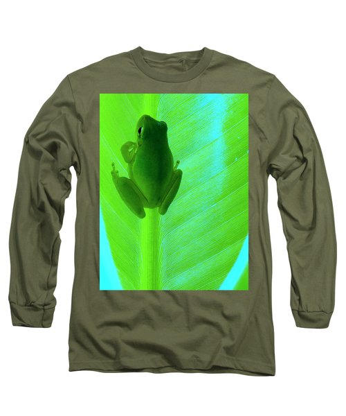 Long Sleeve T-Shirt featuring the photograph Green Day by Faith Williams