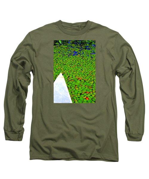 Long Sleeve T-Shirt featuring the photograph Green Dream by Zafer Gurel
