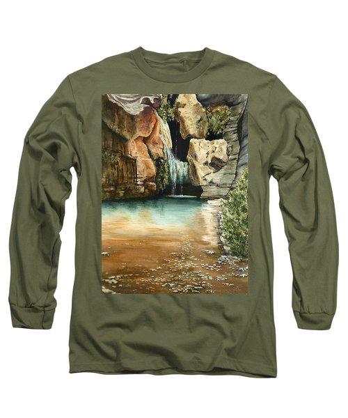 Green Falls II Long Sleeve T-Shirt