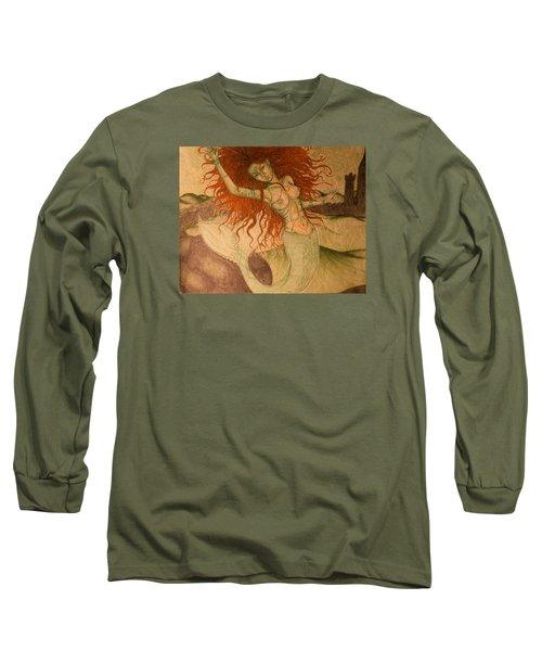 Green Moss Kingdom Long Sleeve T-Shirt