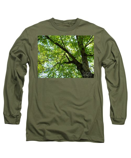 Long Sleeve T-Shirt featuring the photograph Green by Ramona Matei