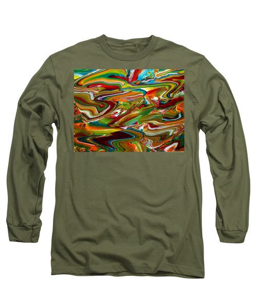 Green Scene Long Sleeve T-Shirt