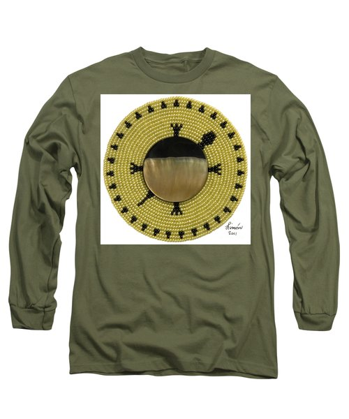 Green Shell Long Sleeve T-Shirt