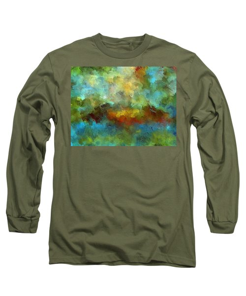 Grotto Long Sleeve T-Shirt by Ely Arsha