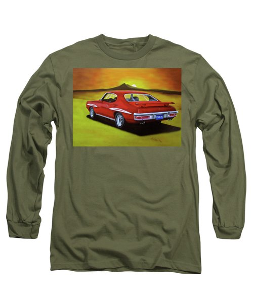 Gto 1971 Long Sleeve T-Shirt by Thomas J Herring