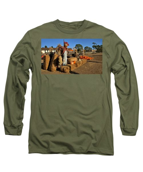 Guarding The Pumpkin Patch Long Sleeve T-Shirt