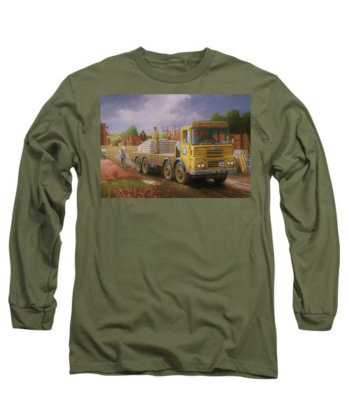Guy Big J Eightwheeler. Long Sleeve T-Shirt