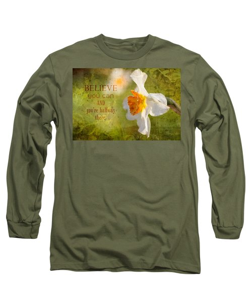 Halfway There With Message Long Sleeve T-Shirt