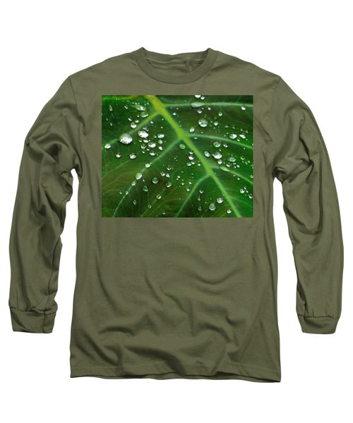 Hanging Droplets Long Sleeve T-Shirt