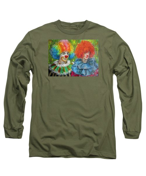 Gemini Clowns Long Sleeve T-Shirt