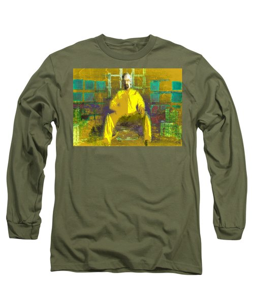 Long Sleeve T-Shirt featuring the digital art Hard Work by Brian Reaves