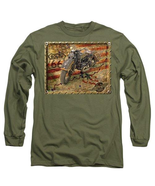 Harley On 66 Long Sleeve T-Shirt