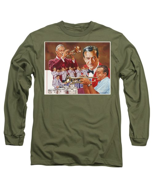 Harry James Trumpet Giant Long Sleeve T-Shirt