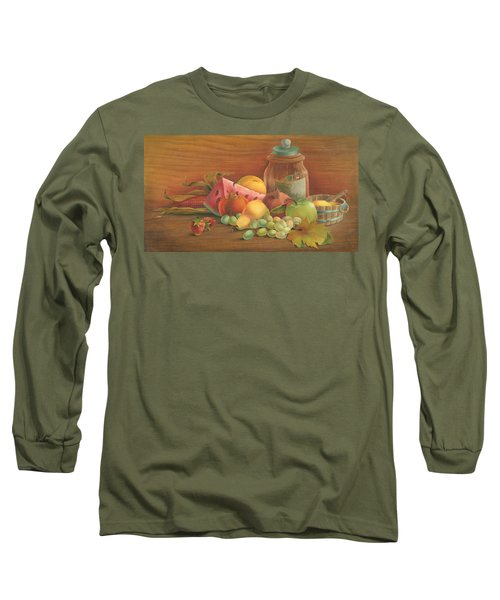 Harvest Fruit Long Sleeve T-Shirt