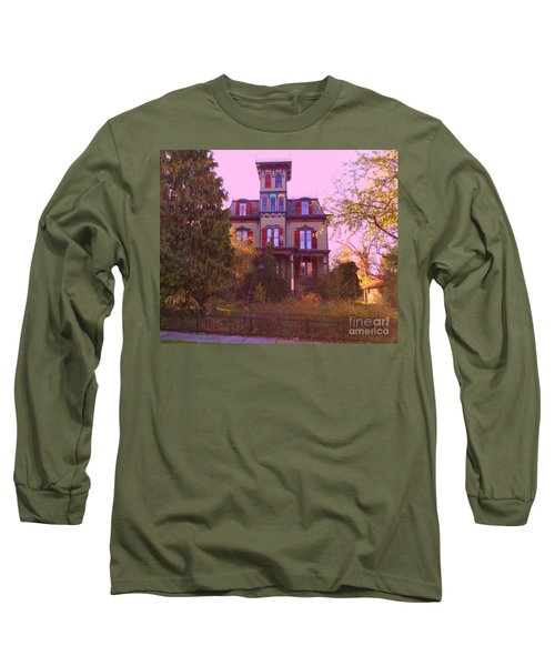 Long Sleeve T-Shirt featuring the photograph Hauntingly Victorian 1 by Becky Lupe