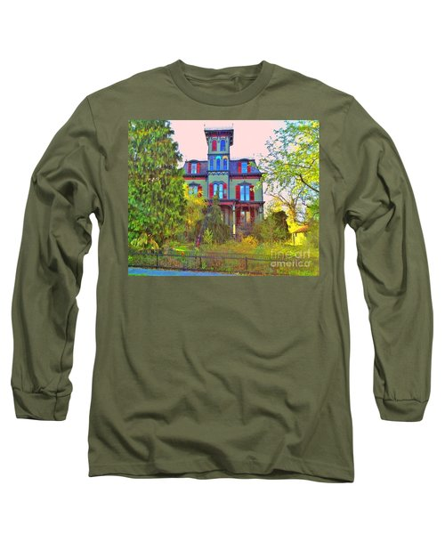 Long Sleeve T-Shirt featuring the photograph Hauntingly Victorian  by Becky Lupe