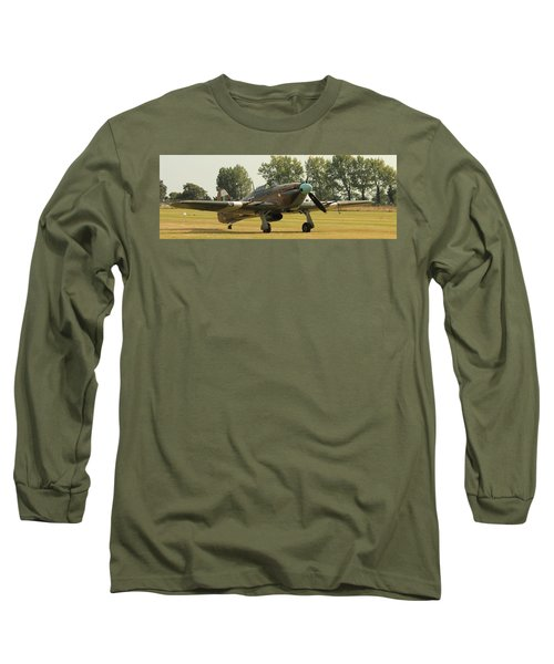 Hawker Hurricane Taxing Long Sleeve T-Shirt
