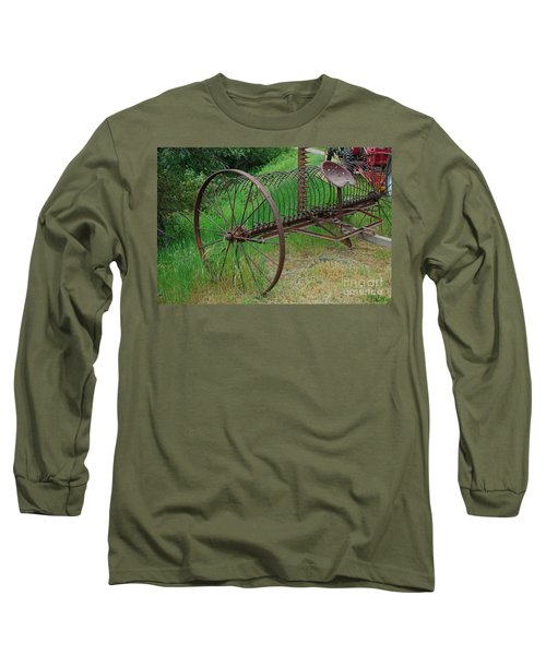 Hay Rake Long Sleeve T-Shirt