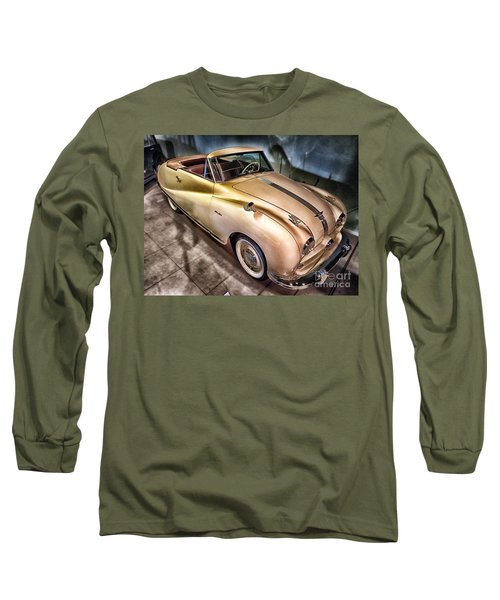 Long Sleeve T-Shirt featuring the photograph Hdr Classic Car by Paul Fearn