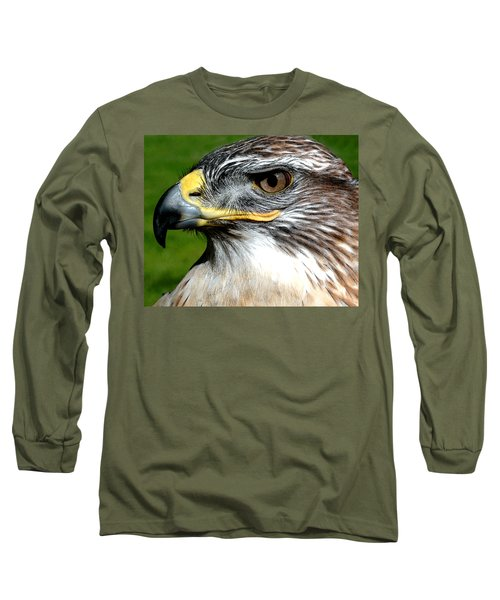 Head Portrait Of A Eagle Long Sleeve T-Shirt