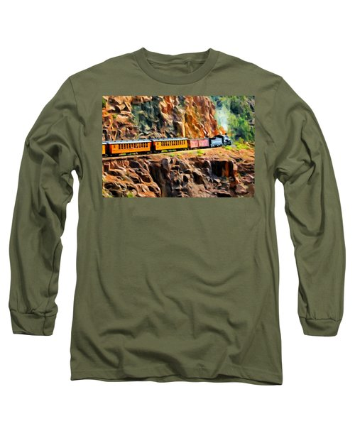 Headed Up The Grade Long Sleeve T-Shirt