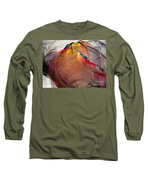 Headless-abstract Art Long Sleeve T-Shirt