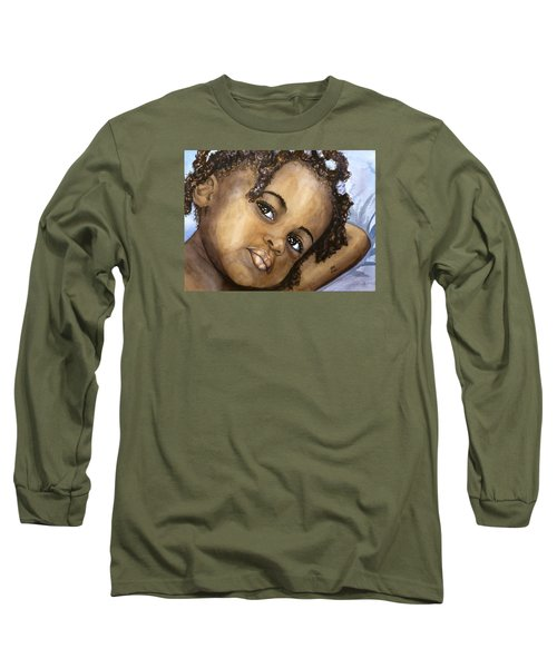 Nigerian Eyes Long Sleeve T-Shirt