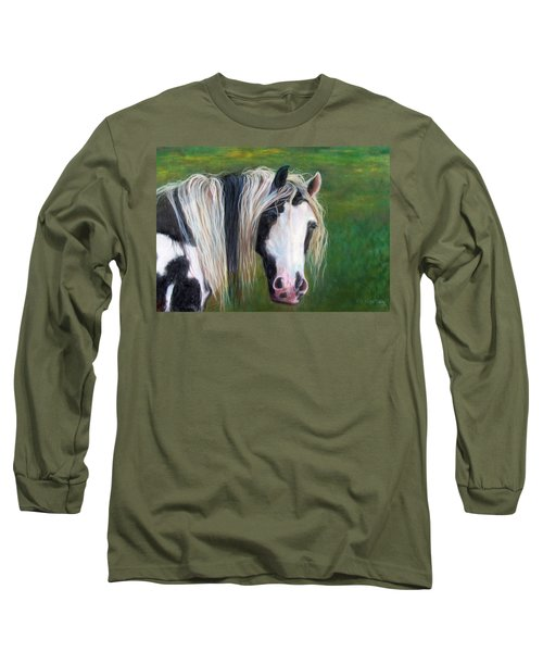 Heart Long Sleeve T-Shirt by Karen Kennedy Chatham