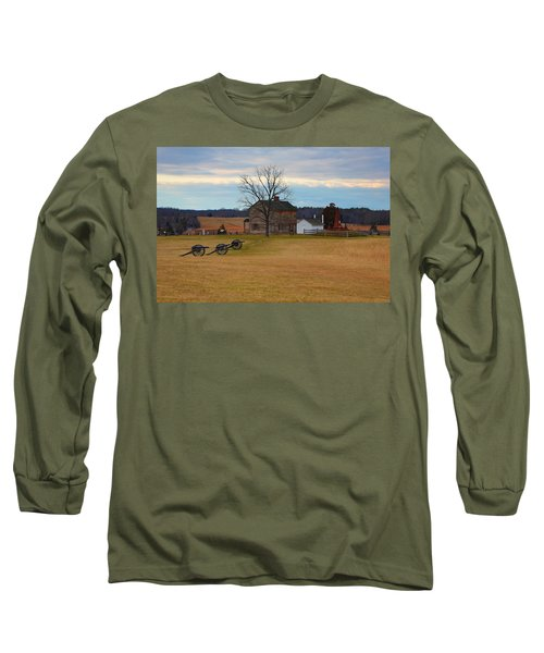 Henry House At Manassas Va Long Sleeve T-Shirt