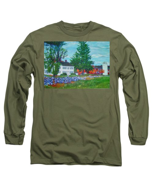 Henry Warren House And Barn Long Sleeve T-Shirt