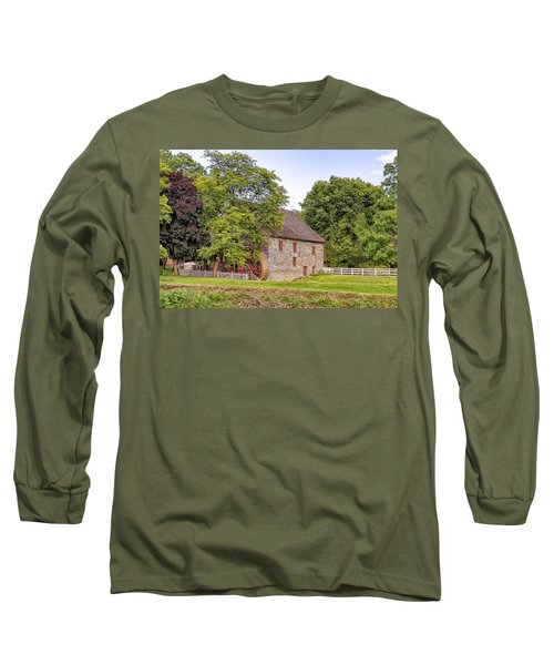 Long Sleeve T-Shirt featuring the photograph Herr's Mill by Jim Thompson