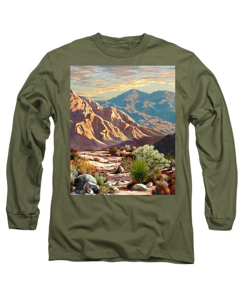 High Desert Wash Portrait Long Sleeve T-Shirt
