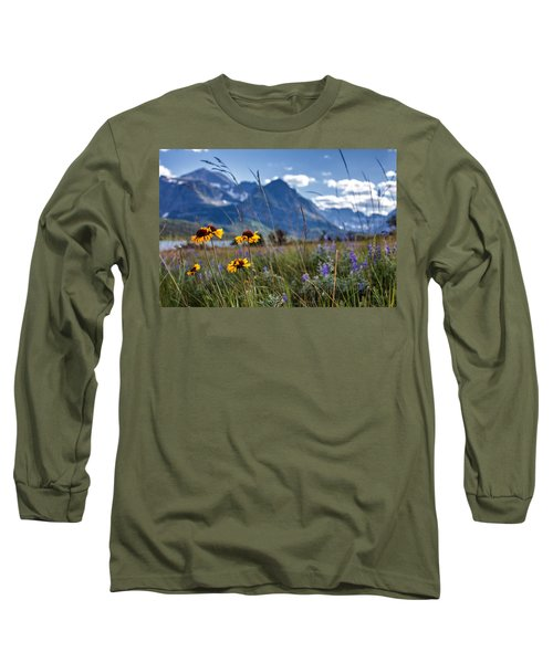 High Plains Long Sleeve T-Shirt by Aaron Aldrich