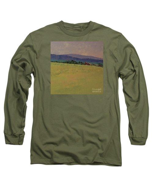 Hilltop Farm Long Sleeve T-Shirt by Gail Kent